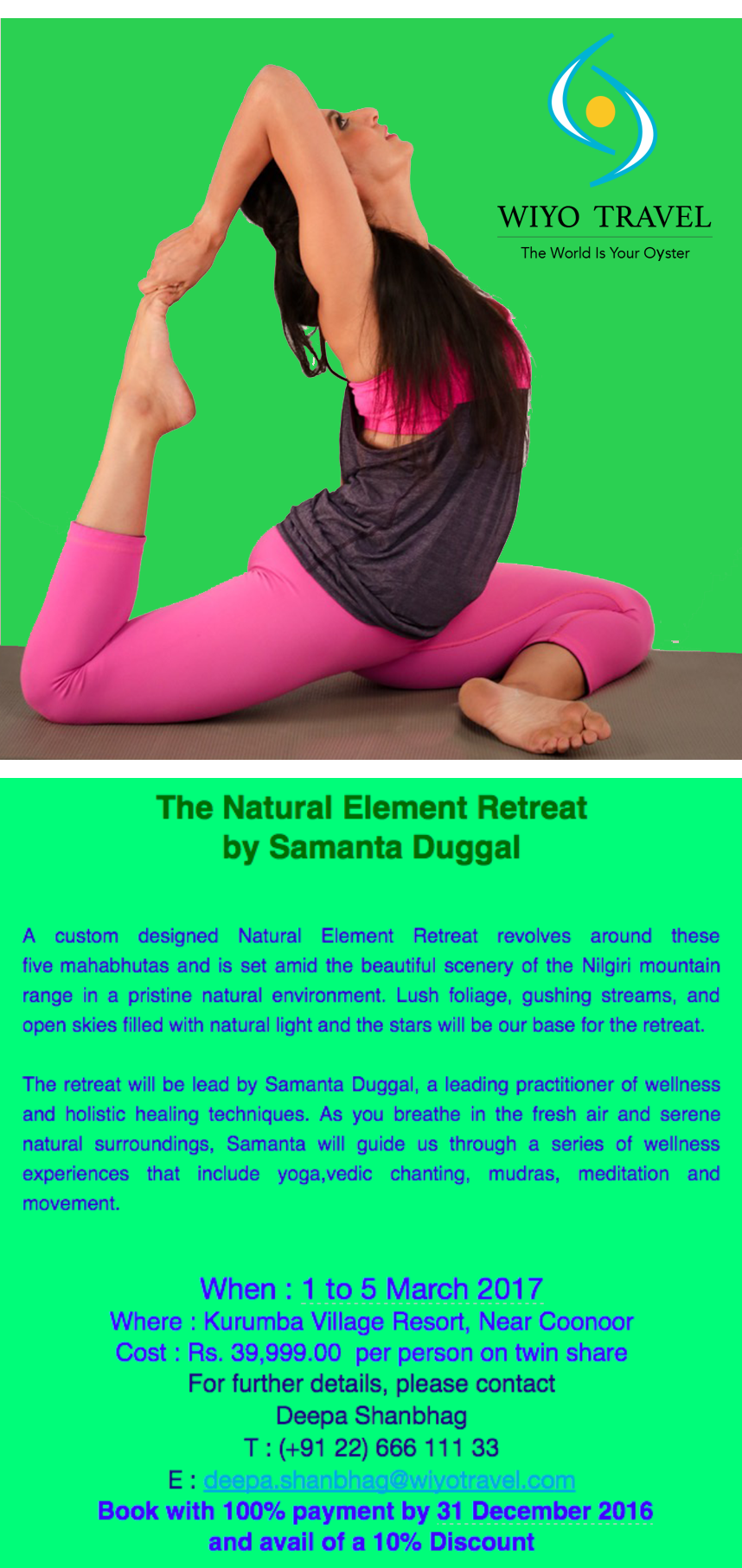 The Natural Element Retreat - View Details